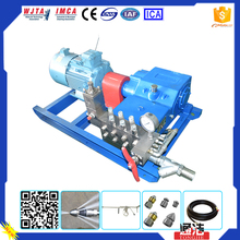 Professional 2800bar Water Jetting Pipe cleaning common rail high pressure fuel injection pump