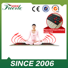 Tourmaline stone heating mattress pad far infrared jade mat