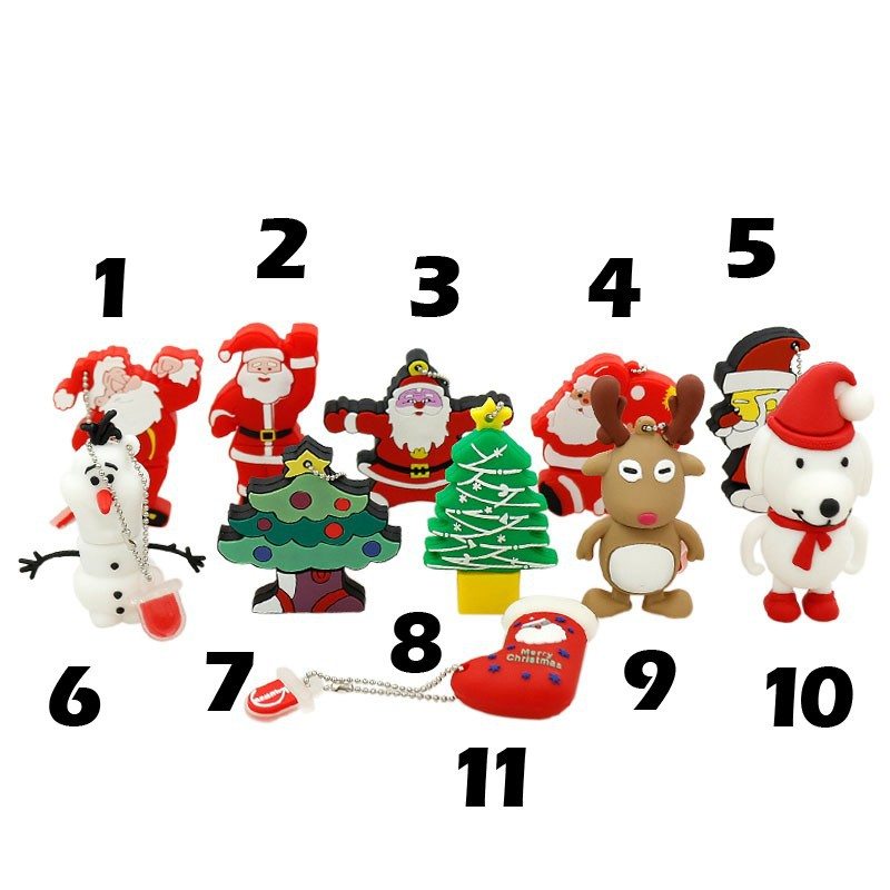 Christmas cute USB <strong>Flash</strong> drive 4G 8G 16G usb cartoon USB