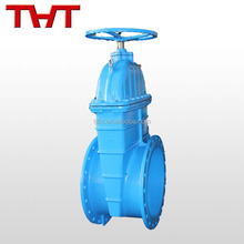 resilient seal gate valve with drain