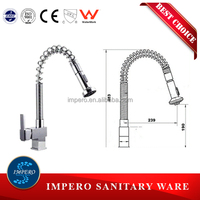 Watermark Approved Australian Quality Standard Single handle kitchen pull-out faucet mixer