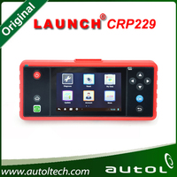 "OBD2 Full Diagnostic Scanner Update Onlie Wifi Supported CRP 229 Code Reader Launch Creader CRP229 Touch 5.0"" Android System"
