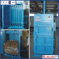 Medium Size Manual Tie Manufacturing Hydraulic Paper Baler Press