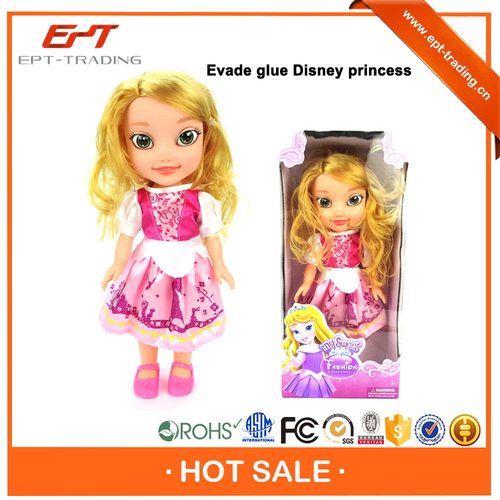 Wholesale vinyl toy baby doll with music