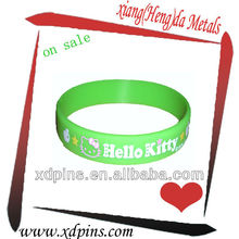 debossed silicone wristbands for activities/event
