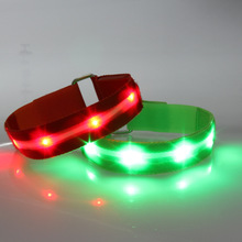 Custom Camouflage Led Remote Wristband Flashlight