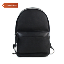 new wholesale daily bag PU backpack leather