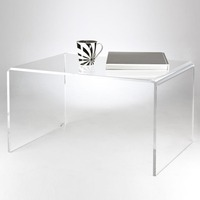 Clear Acrylic Console Table Coffee Table
