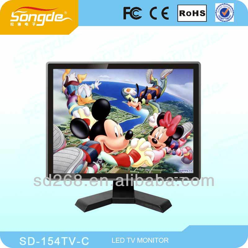 14inch color lcd tv with high resolution