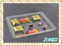 32x42cm Simple design transparent acrylic food tray, serving tray, display tray