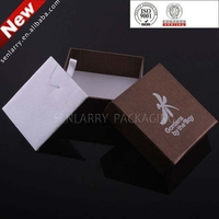 2015 best selling Foam insert Handmade jewellery packaging boxes with logo
