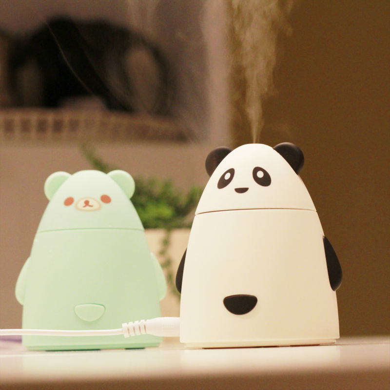 Creative new household appliance USB mini humidifier and air purifier
