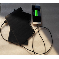 5w 5v fashion solar panel charger with custom brand