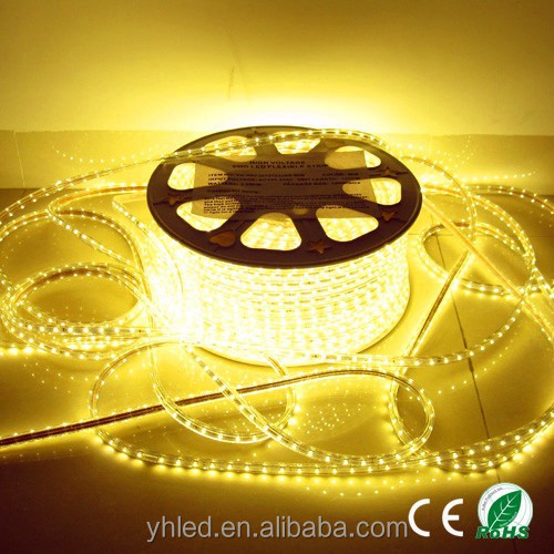 230V LED Strip warm white RGB outdoor indoor led ribbon 50M RGB LED Strip Light Black PCB LED Flexible Strip