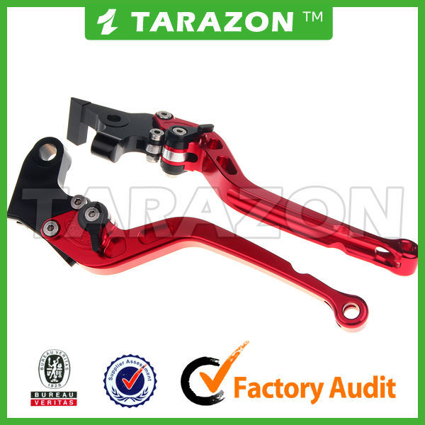 Hot sale China supplier CNC motorcycle adjustable brake lever for kawasaki gpz900r zx10 gtr 1000 gpz1000 gpz abs