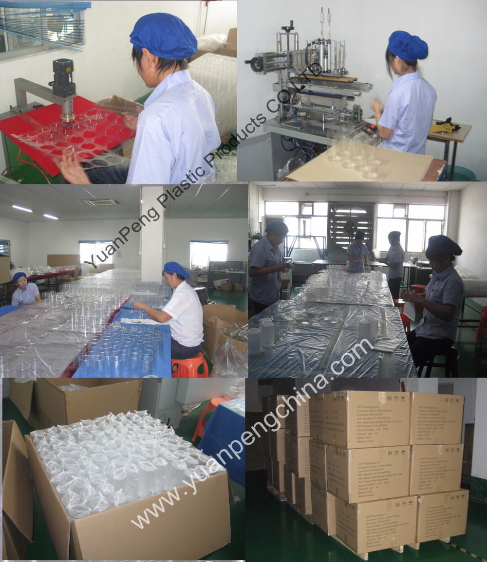 PVC plastic tube packaging for cosmetic / electronic / toys , clear acetate box round