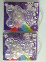 battery operated led snowflake lights/Snowflake Window Suckers with Colour Changing LEDs