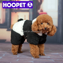 Transform to panda cartoon pet clothes for dog chihuahua