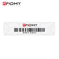 Custom Printing Bar Code UHF Long Range RFID Car Sticker for Windshield