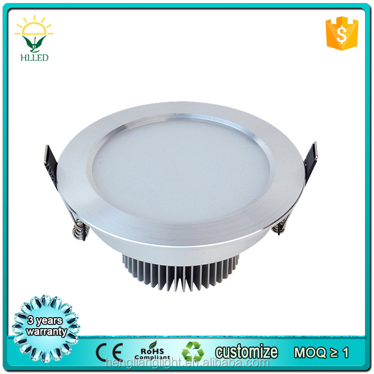 Good quality high power aluminum led downlight 12w 18w 24w