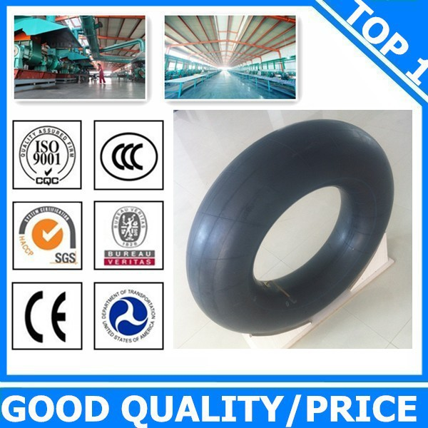 High quality wheelbarrow butyl rubber inner tube with a low price