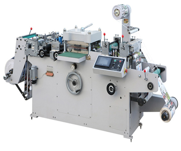 WQM-320G Full-automatic Roll-Roll Continuous Free Adhesive Tape Die Cutter