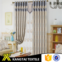 Suzhou factory made yarn dyed jacquard style curtain fabric in china