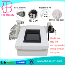 portable 4D ultrasonic wave cavitation laser weight loss machine for sale