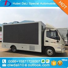 p6 Light Mobile LED Advertisement Van truck for sale