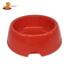 High Quality New Design Plastic Dog Bowl Round Pet Bowls Feeders