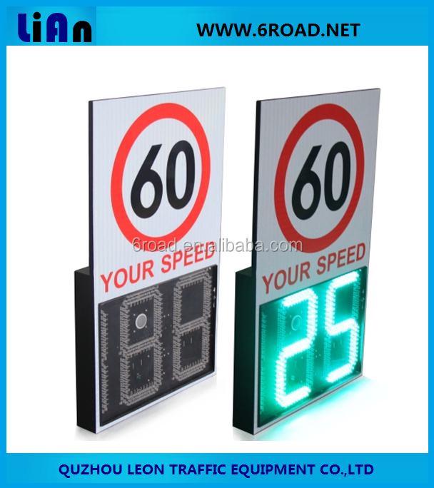 Tunnel Lane Solar Traffic Radar Measuring Velocity Speed Limit