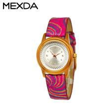 Pu colorful leather strap japan quartz movement geneva brand cheap watches for women hot sale lady's wristwatches