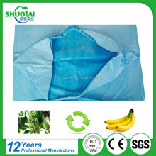 2017 Free sample agriculture biodegradable fruit cover protection plastic banana grow bags