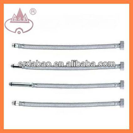 SS/Al braided bathroom flexible extension faucet hose
