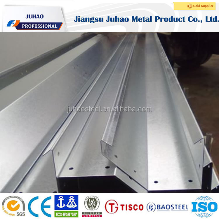 Factory provided cheapest price Long using time greenhouse aluminium rain gutter