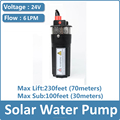 electric submersible garden water pump philippines dc solar water pump system specifications YM2440-30
