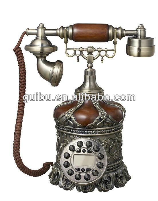 Antique landline telephones high-end European creative home factory