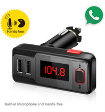 Cheap Stereo Auto Bluetooth Handsfree Car Kit FM Transmitter
