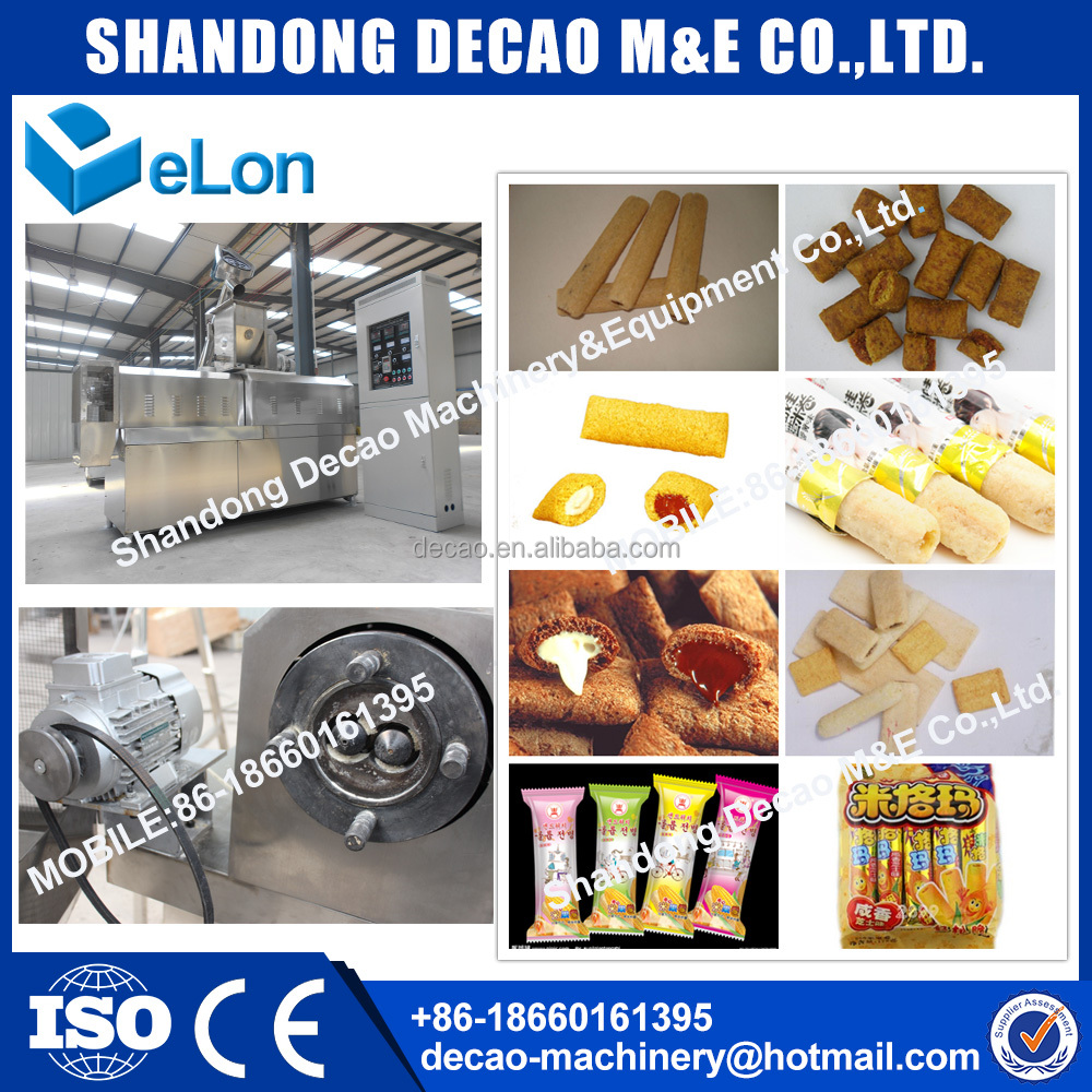 automatic stainless steel good quality rice puff machine