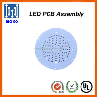 LED PCB Printed Circuit Boards / SMD Round LED Board/LED PCB Contract Manufacturer