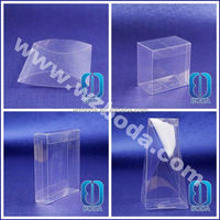 Clear Transparent plastic cosmetic case for promotional