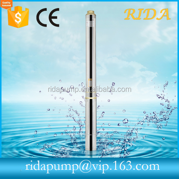 2017 RIDA NEW alibaba express 100QJD deep well pump Submersible deep well 1hp water pump specifications