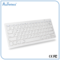 New design colorful wireless bluetooth azerty keyboard use 2AA battery