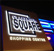 Best price led sign display Acrylic letter sign supplier