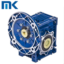 Chinese good quality aluminum foot mounted worm direction changing gearbox