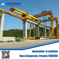 bridge girder launching gantry crane price for express railway building