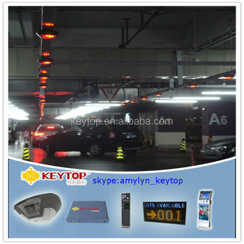 find your car with video detector and parking kiosk machine