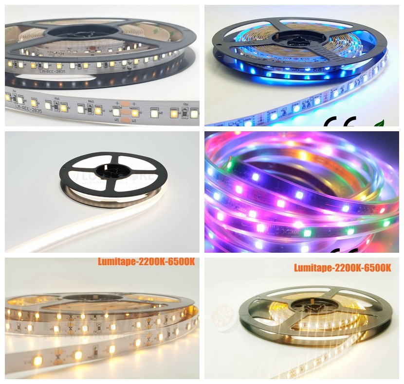 3014 240 led per meter warm neutral cold white 2400k 3000k 4000k 5000k 25 watt CRI Ra>90 LED strip lights 24V LED Flex strips