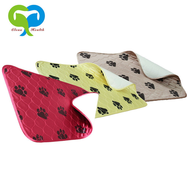 Washable Pet Pee Pads For Dogs / Reusable Puppy Training Pads / Comfortable Whelping Pads