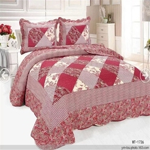 New 100% cotton indian bedding sets Yiwu brand bedding sets printed romantic cover set
